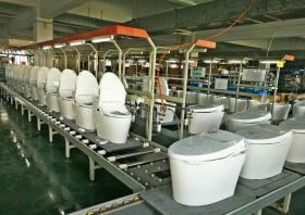 智能马桶生产线