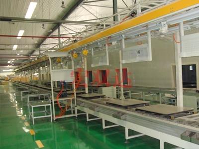 银翔机组生产线