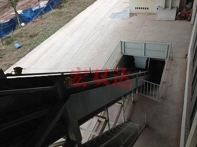 华青废料输送线