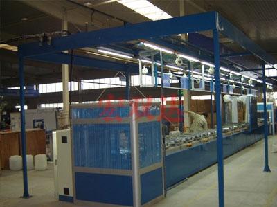 延峰江森座椅生产线