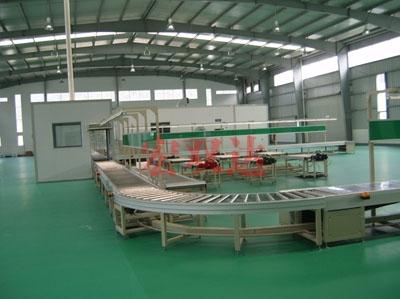 广州泰菱通机生产线