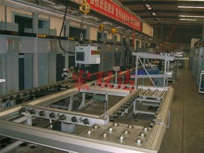 北京发动机生产线