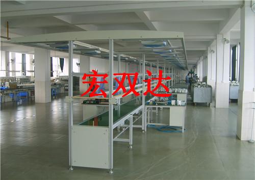 整体灯架独立工作台生产线
