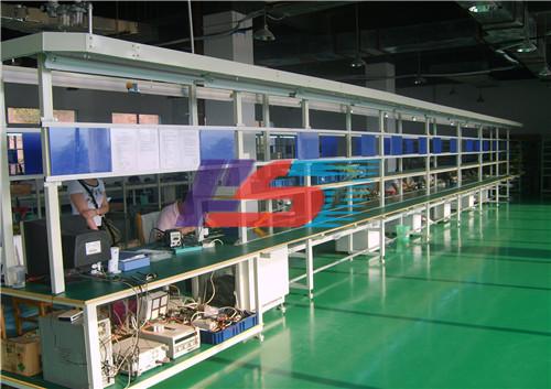 长条式工作台生产线