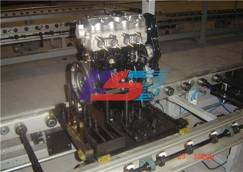 摩擦滚发动机装配线