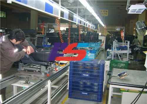湖南汽车座椅工业流水线